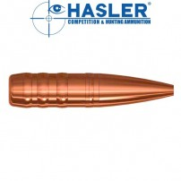Hasler cal.6,5 mm Hunting (.264) 110 grain Monolitica