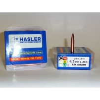 Hasler cal.6,5 mm Hunting (.264) 128 grain Monolitica