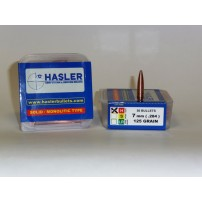 Hasler cal.7 mm Hunting (.284) 125 grain Monolitica