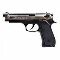 BRUNI Pistola a salve modello BERETTA 92 Cal.9mmP.A.K. BICOLOR