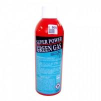 BOMBOLA di gas SUPER GREEN con capacità 600ml dotata di ugello in metallo cod.G600
