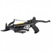 MAN KUNG Pistola Balestra ricurva ALLIGATOR TCS1B 80 Libbre NERA cod.MK-TCS1B
