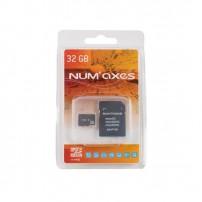 NUM'AXES Scheda di memoria Micro SDHC Classe 10 da 32 GB con adattatore