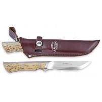 MARTTIINI Coltello da caccia a lama fissa ''FULL TANG CURLY BIRCH'' lama da 11cm cod.350015