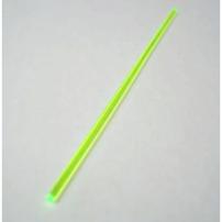 Fibra ottica in stecca da 10 cm - diam.1,5 mm VERDE - PER MIRINI