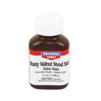BIRCHWOOD - RUSTY WALNUT WOOD STAIN WATER BASE Impregnante per legno color Noce 3oz/90ml