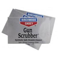BIRCHWOOD Gun Scrubber Firearm Cleaning Wipes SALVIETTE IMBEVUTE PER PULIZIA ARMI - 12 bustine 9,20x6 cm.
