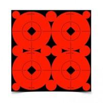 BIRCHWOOD Bersaglio marcante per armi ad aria compressa da 3'' Conf. da 40 bersagli + 10 pezze copri buchi