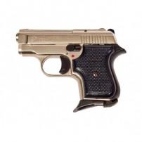 BRUNI Pistola a salve modello GT BABY 315 AUTO Cal.8mm NIKELATA con manico in plastica