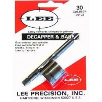DECAPSULATORE MANUALE CON BASE LEE CAL.30