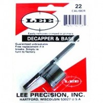 DECAPSULATORE MANUALE CON BASE LEE CAL.22