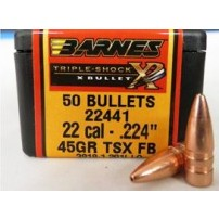 Barnes Palle TSX cal.22 (.224) 45 grs TSX FB cod.22441