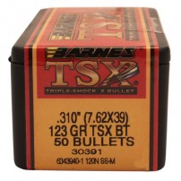 Palle Barnes TSX BT C.7,62x39 .310'' 123gr