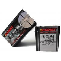 BARNES - PALLE LRX Cal.30.308'' 175grs - 30318 Long Range XBullet Conf. da 50 pz.