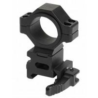 Attacchi universali da 1''/30mm per base Picatinny sgancio rapido