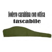 AYRONE Fodero Tascabile per carabina con ottica Lung.120cm H.20cm
