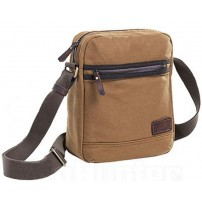 RADAR 1957 ''Valley Collection'' Borsa a Tracolla in tessuto Stone Wash