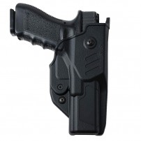 RADAR 1957 Fondina per Glock 17 Gen5 mod.6T07 T-LEP SYSTEM compreso Passante ad S realizzato in Polyform dotato di sistema Belt-Bite