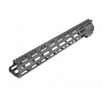 AIM HANDGUARD M-LOCK Paramani per piattaforma AR15, M4 ARE da 10'' in alluminio lavorato a macchina CNC