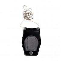 VEGA HOLSTER Portaplacca per Distintivo- Doppio Uso Collo e Cintura