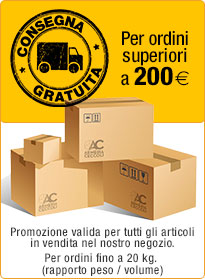 spedizione gratuita.